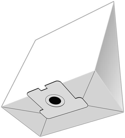 5 Papier Staubsaugerbeutel - EUROPLUS - H 6007