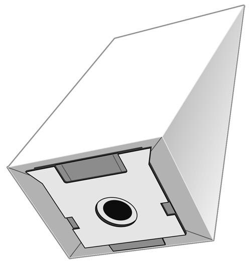 5 Papier Staubsaugerbeutel - EUROPLUS - R 5013