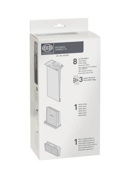 SEBO - HEPA - Box für K-Geräte, 6431ER