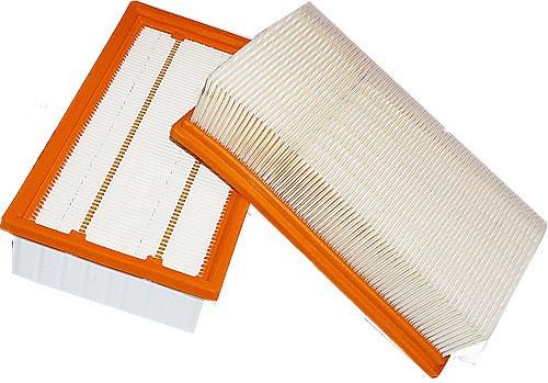 2 Flachfaltenfilter - Filtrak - R 283/1 passend für Kärcher 6.904-367