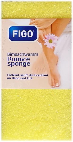 1 Stück Bimsschwamm, gelb
