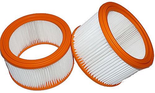 2 Langzeitfilter - Filtrak - R 640 Absolut-Filter - auswaschbar passend für Festool, Makita, Stihl,