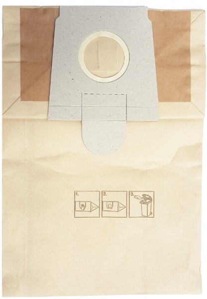 20 Papier Staubsaugerbeutel - SAUGAUF - SZ 4016