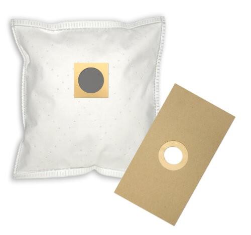 4 Papier Staubsaugerbeutel - FilterClean - UNI 2m Staubsaugerbeutel