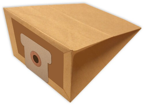 5 Papier Staubsaugerbeutel - FilterClean - H 120