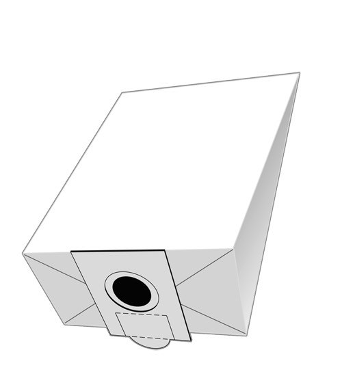 20 Papier Staubsaugerbeutel - SAUGAUF - F 704