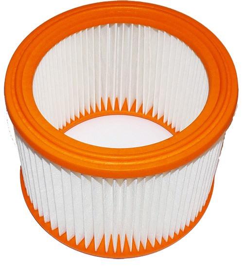 1 Lamellen - Faltenfilter - Filtrak - R 635/2 Absolut-Filter - auswaschbar passend für Nilfisk - Alt