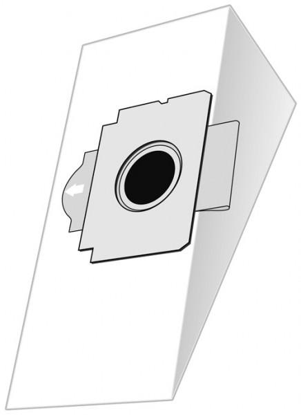 5 Papier Staubsaugerbeutel - EUROPLUS - MX 908