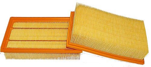 2 Flachfaltenfilter - Filtrak - R 283 passend für Kärcher 6.904-206