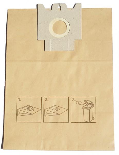 20 Papier Staubsaugerbeutel - SAUGAUF - MS 309