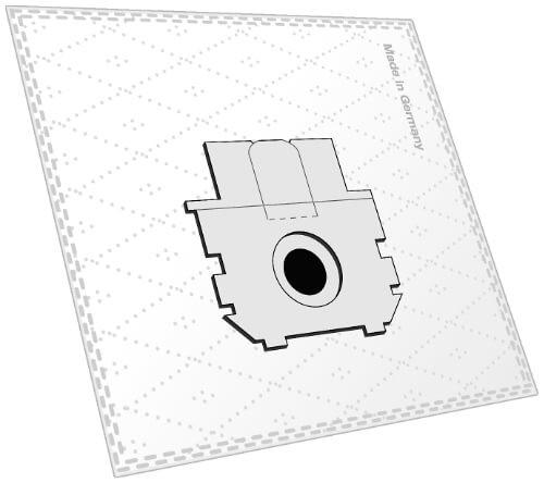 10 Microfaser Staubsaugerbeutel - SAUGAUF - P 2046