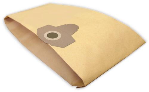 4 Papier Staubsaugerbeutel - FilterClean - L 5