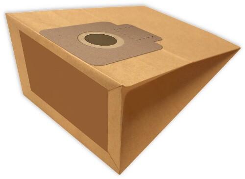 5 Papier Staubsaugerbeutel - FilterClean - H 128