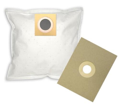 4 Papier Staubsaugerbeutel - FilterClean - UNI 1m Staubsaugerbeutel