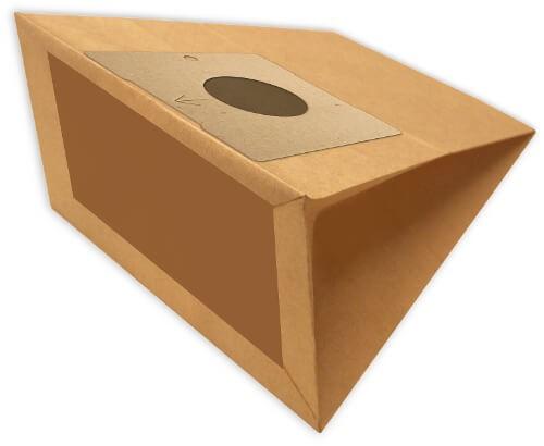 5 Papier Staubsaugerbeutel - FilterClean - W 2