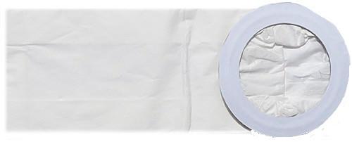 10 Papier Staubsaugerbeutel - SAUGAUF - passend für Nilfisk GD5 Back