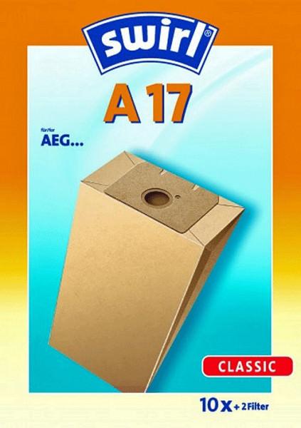 10 Papier Staubsaugerbeutel - Swirl - A 17