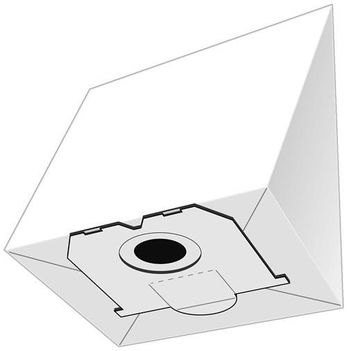 20 Papier Staubsaugerbeutel - SAUGAUF - P 2045