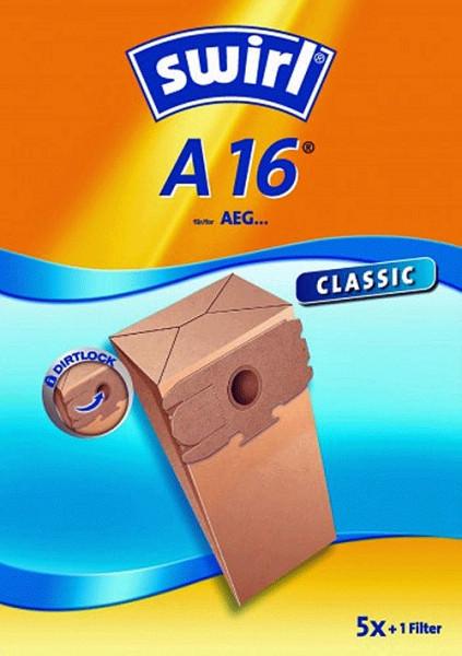 5 Papier Staubsaugerbeutel - Swirl - A 16