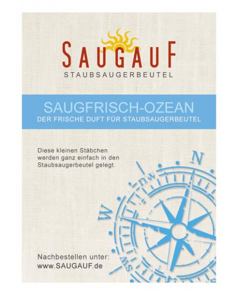 1 Stäbchen Staubsauger - Deo Meeresduft (Gratis für Sie)
