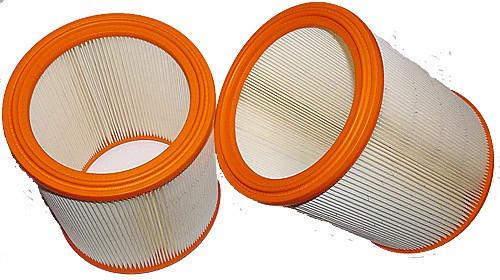 2 Langzeitfilter - Filtrak - R 636/1 passend für Festool, Makita, Stihl, Nilfisk - Alto, W