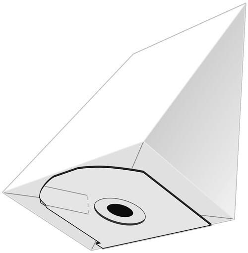 5 Papier Staubsaugerbeutel - EUROPLUS - P 2047