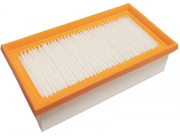 1 Flachfaltenfilter - Filtrak - R 802/2 auswaschbar passend für Kärcher 6.904-068