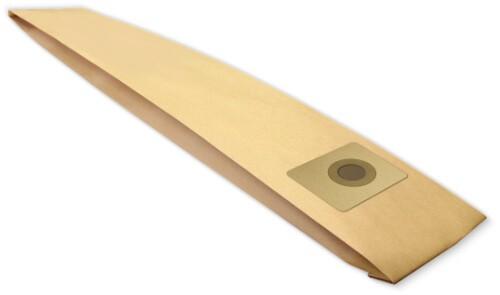 3 Papier Staubsaugerbeutel - FilterClean - SO 8
