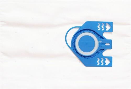 10 Microfaser Staubsaugerbeutel SAUGAUF MS 711m