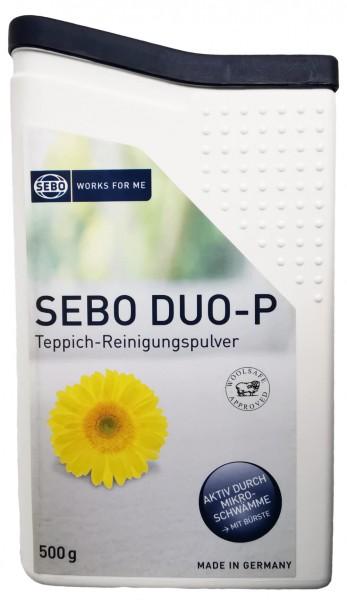 1 SEBO - DUO-P Teppich-Reinigungspulver 500 g