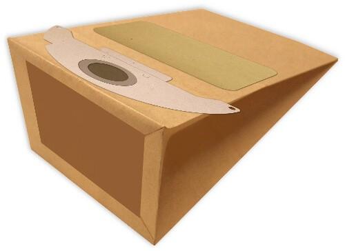 10 Papier Staubsaugerbeutel - FilterClean - K 2