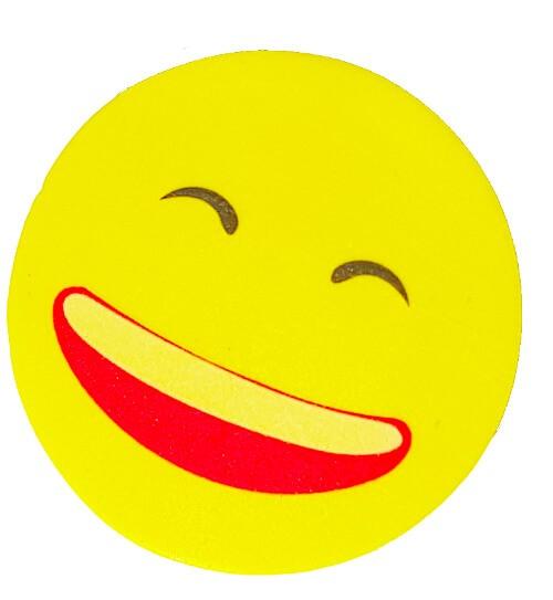 """1 Radiergummi """"Smiley"""" Durchmesser 2,5cm (Gratis für Sie)"""