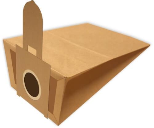 6 Papier Staubsaugerbeutel - FilterClean - H 114