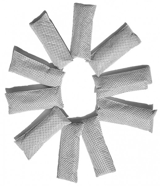 10 Riech-Ex Aktivkohlepads passend für jeden Staubsaugerbeutel