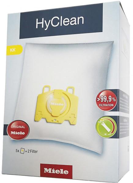 5 Microfaser Staubsaugerbeutel - Miele - HyClean KK