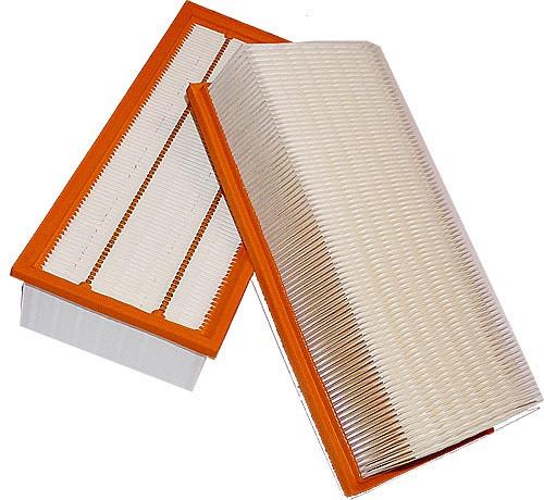 2 Flachfaltenfilter - Filtrak - R 286 passend für Kärcher 6.904-283