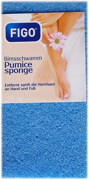 1 Stück Bimsschwamm, blau