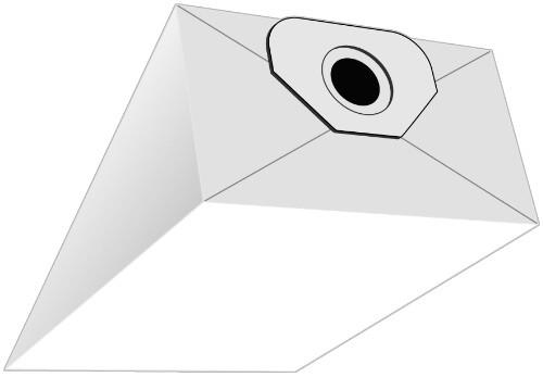 5 Papier Staubsaugerbeutel - SAUGAUF - N 171