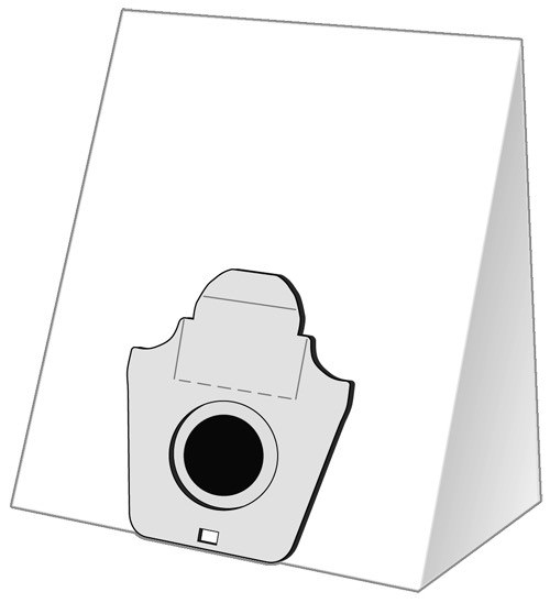 5 Papier Staubsaugerbeutel - EUROPLUS - EIO 1600
