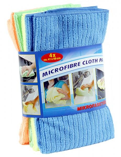 Mikrofaser Reinigungstücher, 4er Set