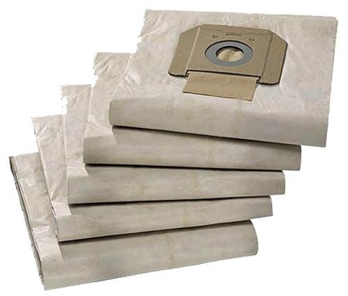 5 Papier Staubsaugerbeutel - Original Kärcher 6.904-285