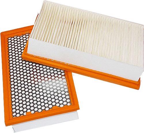 2 Flachfaltenfilter - Filtrak - R 283/3 passend für Kärcher 6.904-360 auswaschbar