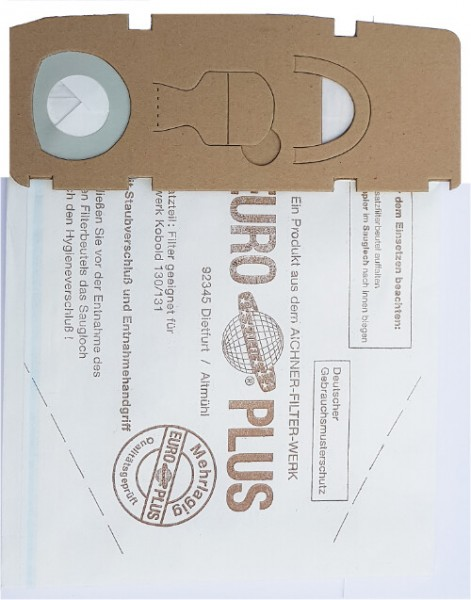 20 Papier Staubsaugerbeutel - SAUGAUF - VO 1130