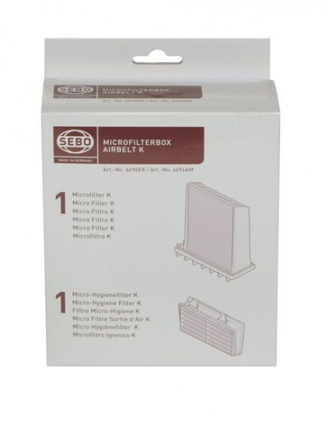 SEBO - Microfilterbox K, 6696 ER